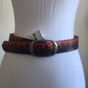 LF red flames belt